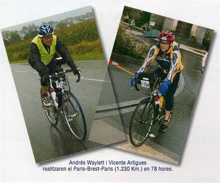 Andres Waylett y Vicente Artigues