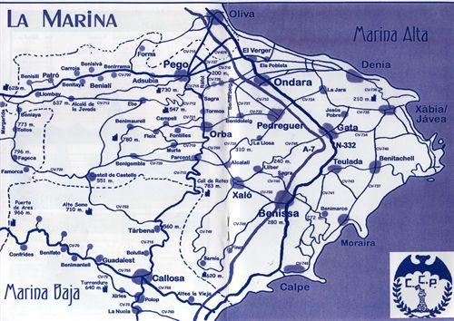 Plano La Marina